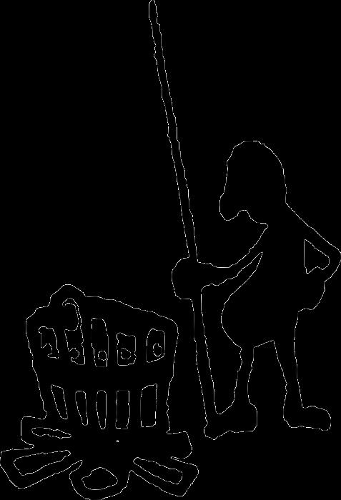kresba Homolupula Homolupulové - lidé chmeloví