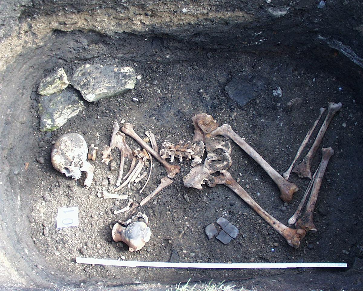 Muzeum Homolupulů - Hrob nejstaršího pivaře