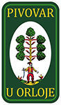 logo Pivovar u Orloje Žatec