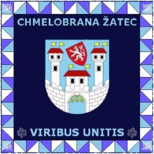 Zástava Chmelobrany modrá I